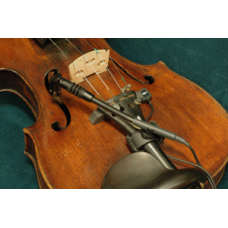 Violin Low Profile Combined System - Low profile Contact - Flexible Neck Directional mic   AC-LC-FD-01